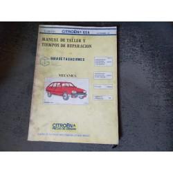 MANUAL DE TALLER CITROEN GSA
