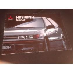 Catálogo de venta MITSUBISHI COLT