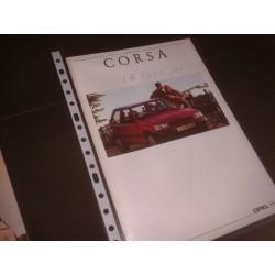 Catálogo de Venta OPEL CORSA
