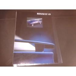 Catalogo de Venta RENAULT R19 16V