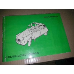 MANUAL DE INSTRUCCIONES CITROËN 2CV