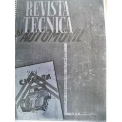 copia REVISTA TECNICA DEL AUTOMOVIL CITROEN 2CV 3 reeditado
