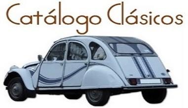 Catálogo coches clásicos y colección